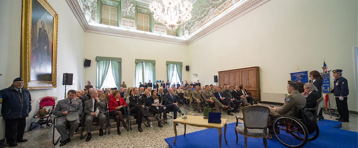 Una vita per la Patria 2015 - sala Umberto I Palazzo Ducale di Parma
