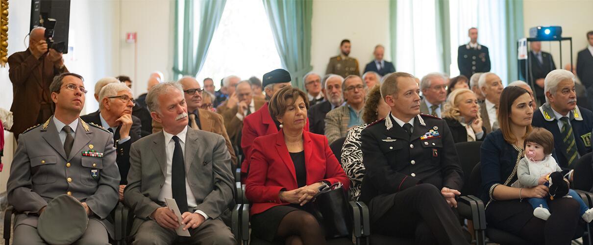 Una vita per la Patria 2015 - alcuni invitati alla cerimonia anno 2015