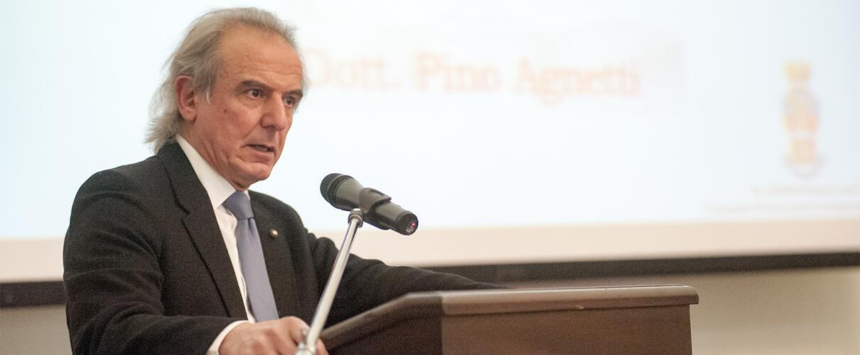 """Una vita per la Patria 2015 - Pino Agnetti - Presidente Associazione culturale """"Libertà Parmigiana"""""""