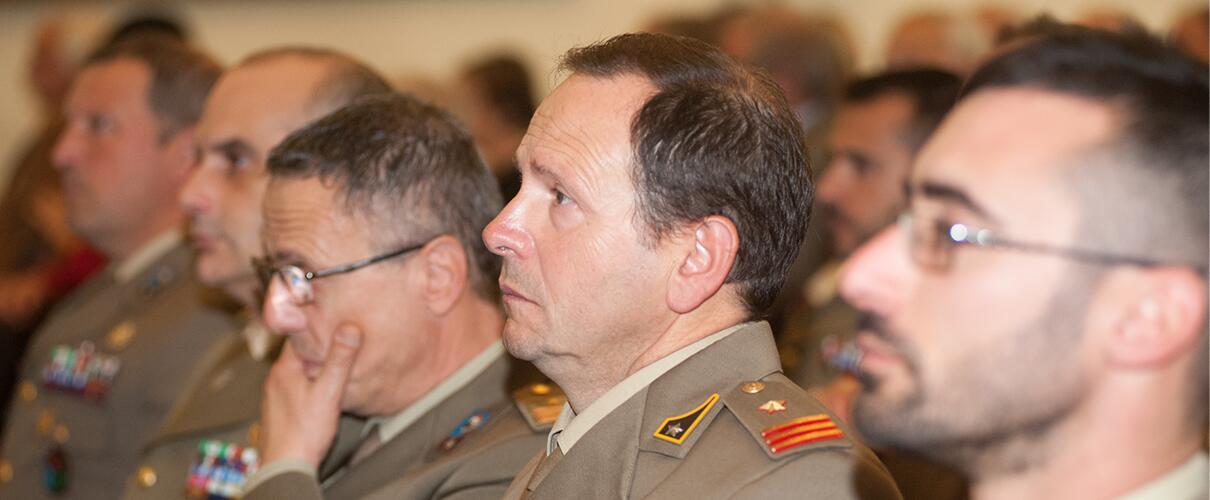 """Una vita per la Patria 2015 - Col. Domenico D'Ortenzi - Comandante 8° Reggimento Genio Guastatori Paracadutisti """"Folgore"""""""