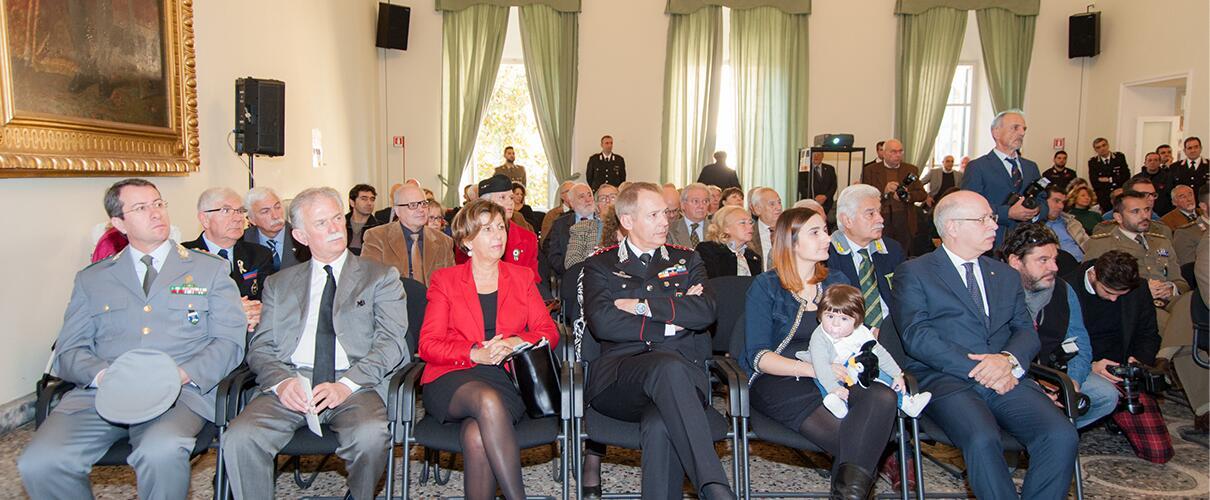 Una vita per la Patria 2015 - alcune autorità presenti alla cerimonia anno 2015