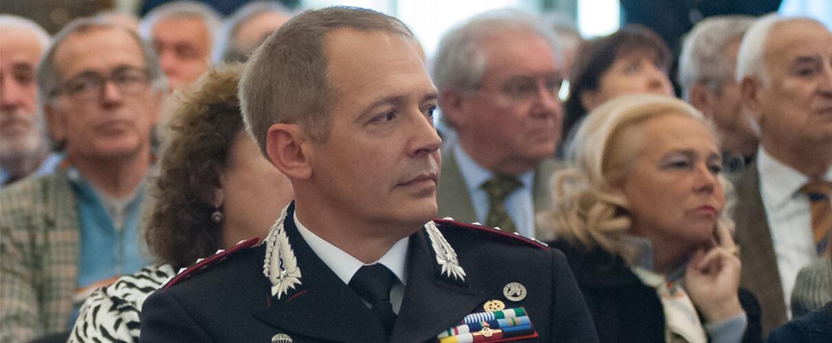 Una vita per la Patria 2015 - Col. Massimo Zuccher - Comandante Comando Prov.le Carabinieri Parma