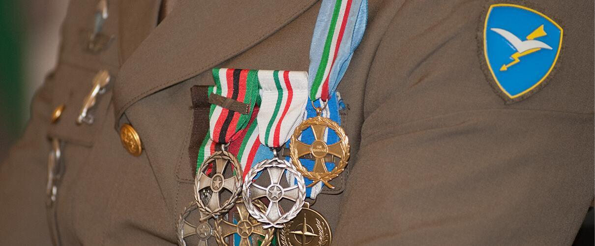 Una vita per la Patria 2015 - Primo Maresciallo Simone Careddu - Esercito Italiano