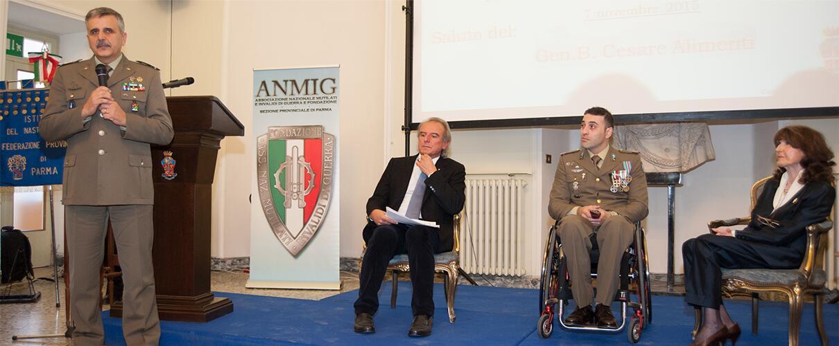 """Una vita per la Patria 2015 - Alimenti - Comandante Comando Militare Esercito """"Emilia Romagna"""""""