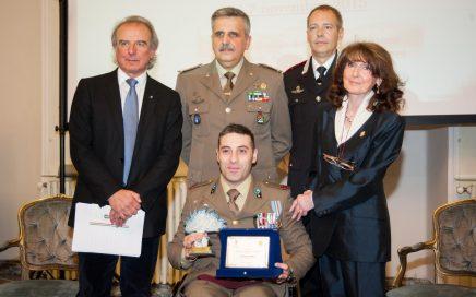 Una vita per la Patria 2015 - consegna del riconoscimento anno 2015