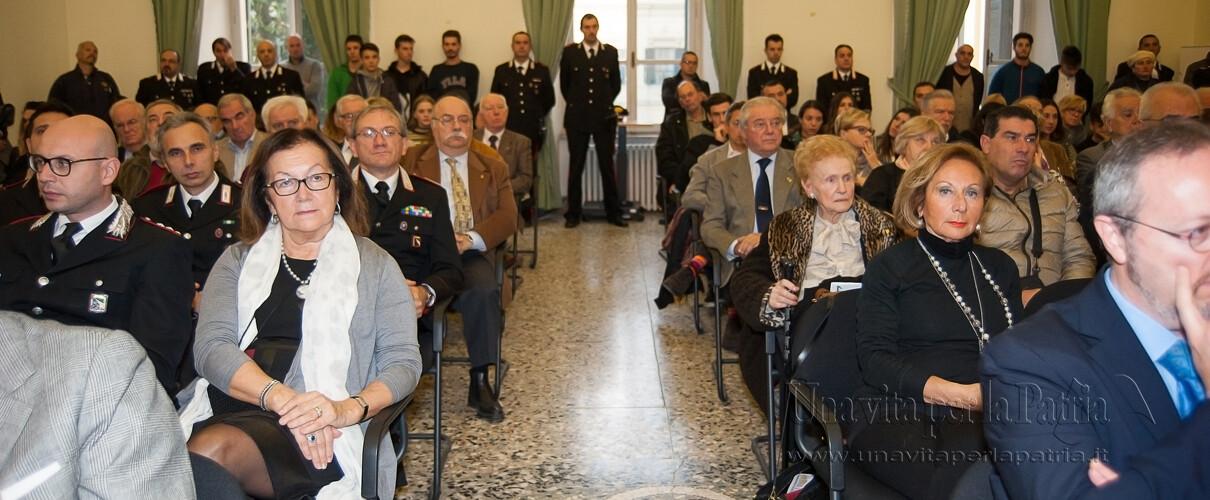 Una vita per la Patria 2016 - invitati alla cerimonia anno 2016