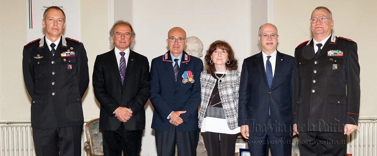 Una vita per la Patria 2016 - foto ricordo della cerimonia anno 2016