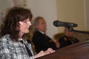 Una vita per la Patria 2016 - momento dell'intervento Zobeide Spocci - Presidente A.N.M.I.G. sez. Parma