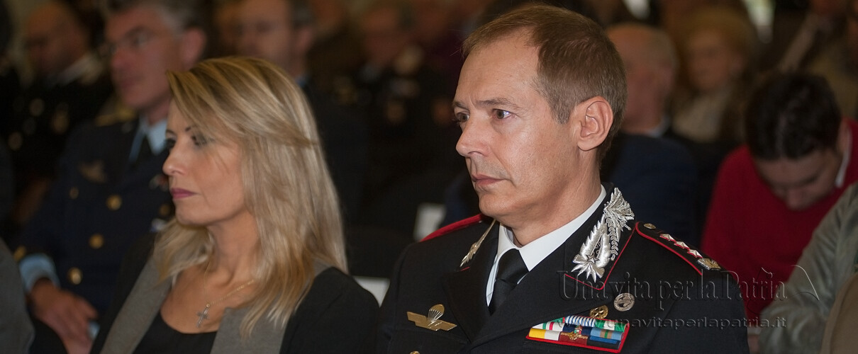 Una vita per la Patria 2016 - Col. Massimo Zuccher - Comandante Comando Prov.le Carabinieri Parma