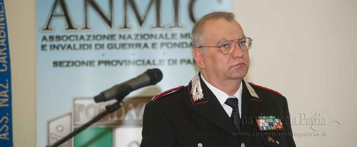 Una vita per la Patria 2016 - intervento del Col. Guido De Masi - Vice Comandante Legione Carabinieri Emilia-Romagna